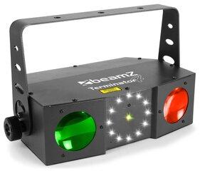 BeamZ Terminator IV LED Double Moon ar lazeru un strobu Gaismas efekts cena un informācija | BeamZ Terminator IV LED Double Moon ar lazeru un strobu Gaismas efekts | 220.lv