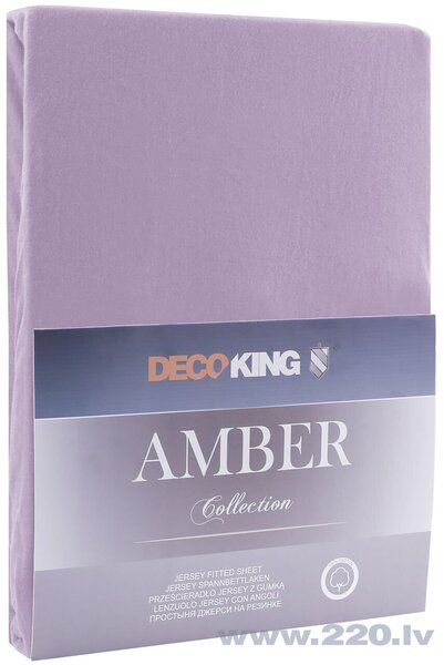 DecoKing Amber простыня на резинке 180x200 см