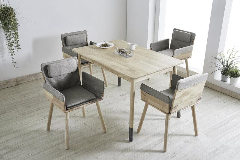 Pusdienu galds Notio Living Jack 120, gaiši brūns atsauksme