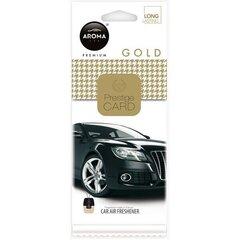 Автомобильный освежитель воздуха Prestige Card Gold 6 г цена и информация | Автохимия и освежители воздуха | 220.lv