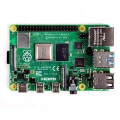 Raspberry Pi 4 model B WiFi DualBand Bluetooth 8GB RAM 1.5GHz цена и информация | Электроника с открытым исходным кодом | 220.lv