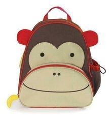 Bērnu mugursoma Skip Hop Zoo Pack Pērtiķis, 210203 cena un informācija | Skolas somas | 220.lv