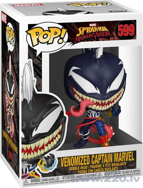 Funko POP! Marvel Venom Captrain Marvel
