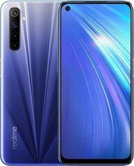 Realme 6, 128GB, Dual SIM, Comet Blue цена и информация | Мобильные телефоны | 220.lv