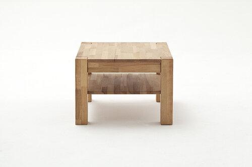 Кофейный столик MC Akcent Peter 65, коричневый цена и информация | Журнальные столики | 220.lv