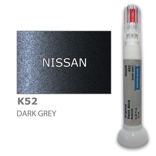 Krāsu korektors skrāpējumu korekcijai NISSAN K52 - DARK GREY 12 ml
