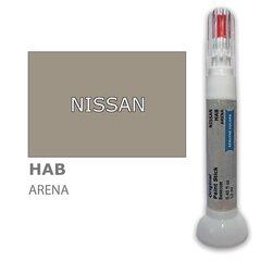 Krāsu korektors skrāpējumu korekcijai NISSAN HAB - ARENA 12 ml cena un informācija | Auto krāsas | 220.lv