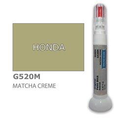 Krāsu korektors skrāpējumu korekcijai HONDA G520M - MATCHA CREME 12 ml cena un informācija | Auto krāsas | 220.lv