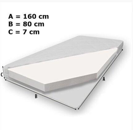 Bērnu gulta ADRK Furniture Gonzalo K12, 160x80 cm atsauksme
