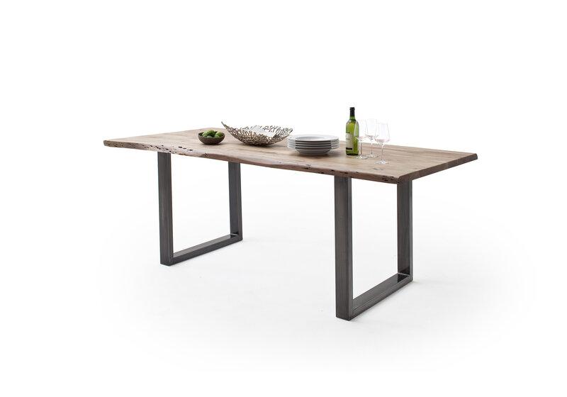 Galda virsma galdam MC Akcent Calabria, 200x100x3,5 cm, brūna internetā