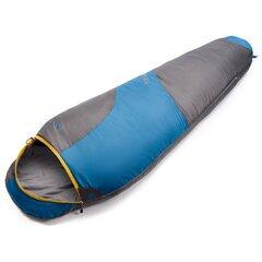 Спальный мешок Meteor Trailодноместный, серый/ синий цена и информация | Спальные мешки | 220.lv