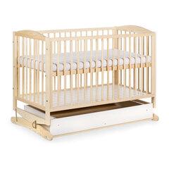 Šūpuļgultiņa Henry, 120x60 cm, brūna cena un informācija | Zīdaiņu gultas | 220.lv
