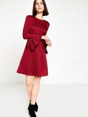 Sieviešu kleita, bordo cena un informācija | Kleitas | 220.lv