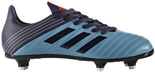Adidas Apavi Pusaudžiem Malice Sg Blue Black cena un informācija | Futbols | 220.lv