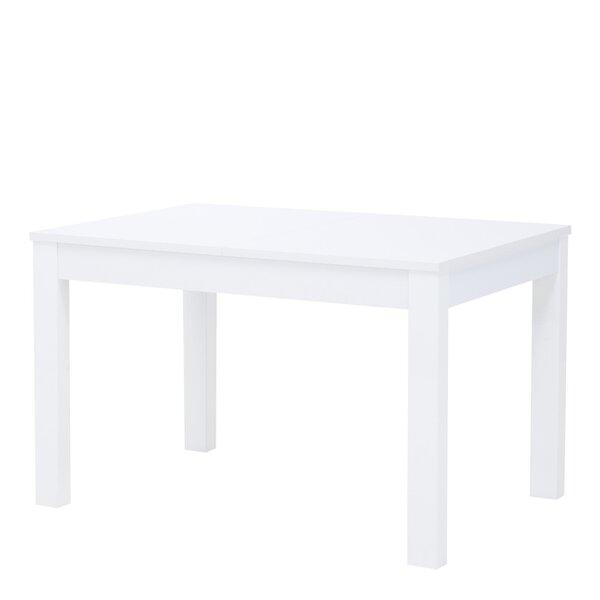Paplašināms galds Szynaka Meble Aster, balts matēts