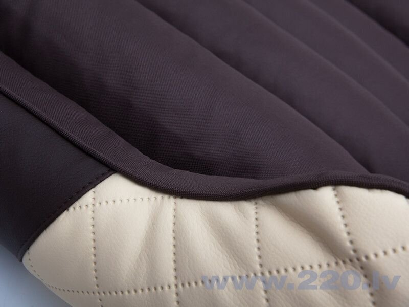 Hobbydog guļvieta Cesarean Standart, smilškrāsas/brūnas krāsas R1, 65x52 cm lētāk