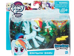 Poniju harmonijas aizbildņa figūriņa Hasbro, Rainbow Dash cena un informācija | Poniju harmonijas aizbildņa figūriņa Hasbro, Rainbow Dash | 220.lv