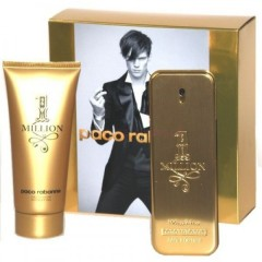 Kомплект Paco Rabanne 1 Million: edt 100 ml + гель для душа 100 ml
