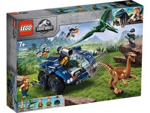 75940 LEGO® Jurassic World™ Побег Галимимса и Претанодона. цена и информация | Игрушки для мальчиков | 220.lv