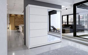 Skapis ADRK Furniture Caro, balts cena un informācija   Skapji   220.lv
