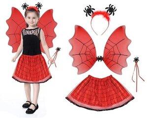 Iso Trade bērnu karnevāla Halovīna kostīms, sarkans cena un informācija | Iso Trade bērnu karnevāla Halovīna kostīms, sarkans | 220.lv