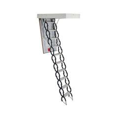 Šķērveida bēniņu kāpnes 4IQ 120 x 60 cm cena un informācija | Kāpnes | 220.lv