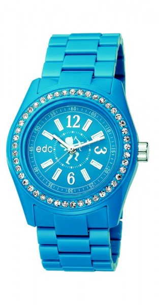 Pulkstenis edc by esprit Disco Glam Glowing Blue With Stones
