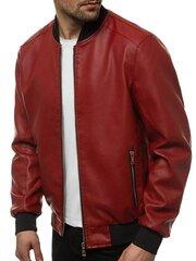 Мужская куртка из экокожи «Lugon» цена и информация | Мужская куртка из экокожи «Lugon» | 220.lv