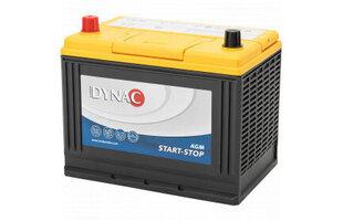 Akumulators DYNAC Start-Stop AGM Jap (+-) 75Ah 690A cena un informācija   Akumulatori   220.lv