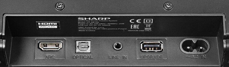 Sharp HT-SB150 atsauksme
