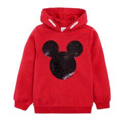 Cool Club jaka meitenēm Pelēns Mikijs (Mickey Mouse), LCG2122517 cena un informācija   Jakas, džemperi, žaketes, vestes meitenēm   220.lv