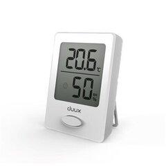 Higrometrs - termometrs Duux Sense DXHM01 cena un informācija | Meteostacijas, termometri | 220.lv