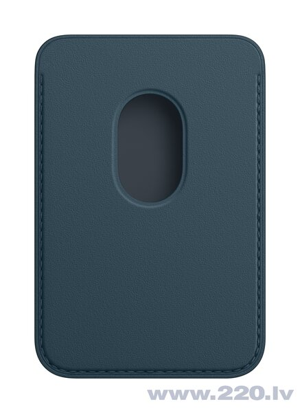 iPhone Leather Wallet with MagSafe, Baltic Blue cena