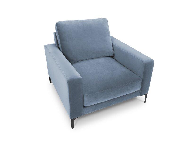 Krēsls Kooko Home Harmony, gaiši zils internetā