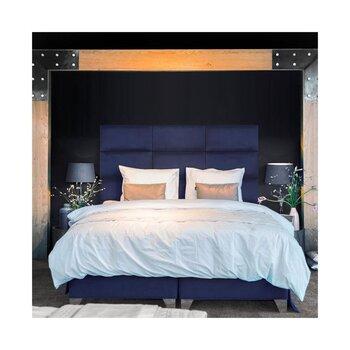 Mīksta sienas plāksne Indigo, zila cena un informācija | Piederumi mēbelēm | 220.lv