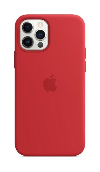 Apple maciņš MagSafe piemērots Apple iPhone 12 Pro Max, Sarkans cena un informācija | Maciņi, somiņas | 220.lv