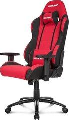 Spēļu krēsls Akracing Core EX, sarkans/melns cena un informācija | Biroja krēsli | 220.lv