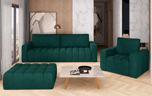 Mīksto mēbeļu komplekts NORE Lazaro 03, zaļš cena un informācija | Dīvānu komplekti | 220.lv