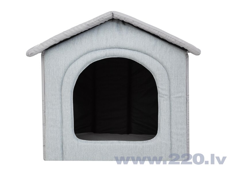 Guļvieta-būda Hobbydog Inari Dove Grey, 44x38 cm cena