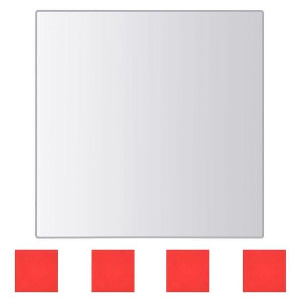 Spoguļa flīzes, 24 gab., kvadrāta forma, stikls lētāk