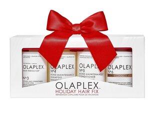 Matu kopšanas līdzekļu komplekts Olaplex Holiday Hair Fix cena un informācija | Matu kopšanas līdzekļu komplekts Olaplex Holiday Hair Fix | 220.lv