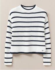 Sieviešu džemperis CREW WND024 balts cena un informācija | Džemperi sievietēm | 220.lv