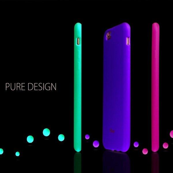 Silikona telefona vāciņš no Roar Colorful Jelly priekš Samsung Galaxy M31S, lime atsauksme