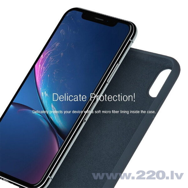 Mercury Matēts Silikona aizmugures maks ar mīkstu iekšpusi priekš Apple iPhone 11 Lavanda Pelēks cena