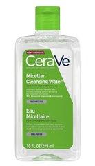 Attīrošs micelārais ūdens CeraVe Micellar Cleansing Water 295 ml cena un informācija | Attīrošs micelārais ūdens CeraVe Micellar Cleansing Water 295 ml | 220.lv
