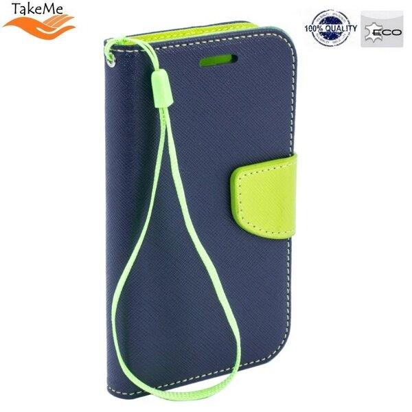 TakeMe TM-FD-SAS10-BL/LGE, paredzēts Samsung Galaxy S10, zils/zaļš