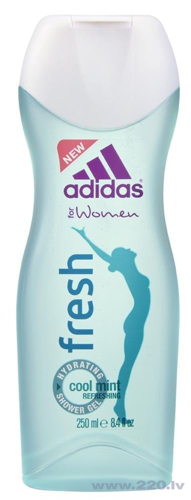 Dušas želeja Adidas Body Fresh 250 ml