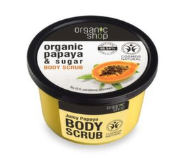 Ķermeņa skrubis ar papaiju Organic Shop 250 ml