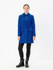 Sieviešu mētelis Only, zils cena un informācija | Sieviešu mētelis Only, zils | 220.lv