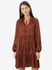 Sieviešu kleita Vila, brūna cena un informācija | Kleitas | 220.lv